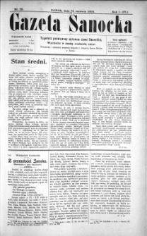 Gazeta Sanocka, 1904, nr 25