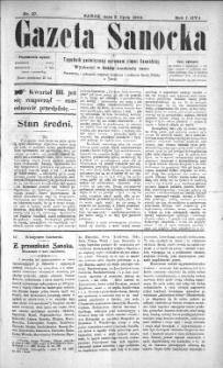 Gazeta Sanocka, 1904, nr 27