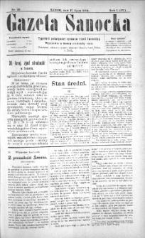 Gazeta Sanocka, 1904, nr 29