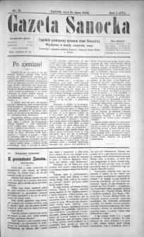 Gazeta Sanocka, 1904, nr 31