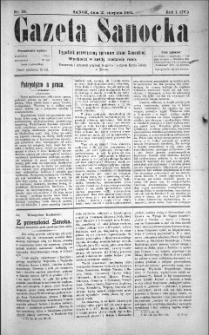 Gazeta Sanocka, 1904, nr 34