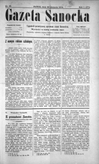 Gazeta Sanocka, 1904, nr 35