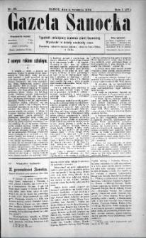 Gazeta Sanocka, 1904, nr 36