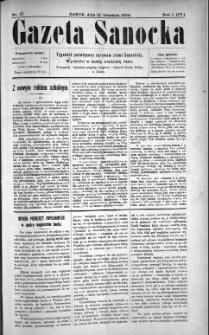 Gazeta Sanocka, 1904, nr 37