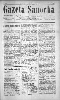 Gazeta Sanocka, 1904, nr 38