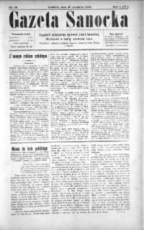 Gazeta Sanocka, 1904, nr 39