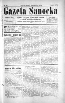 Gazeta Sanocka, 1904, nr 40