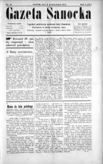 Gazeta Sanocka, 1904, nr 41