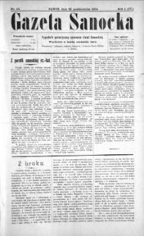Gazeta Sanocka, 1904, nr 43
