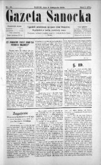 Gazeta Sanocka, 1904, nr 45
