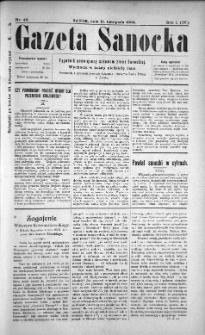 Gazeta Sanocka, 1904, nr 46