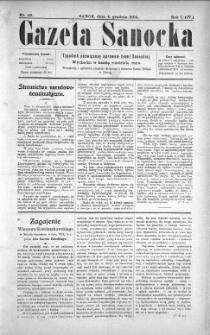 Gazeta Sanocka, 1904, nr 49