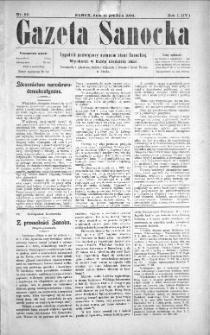 Gazeta Sanocka, 1904, nr 50