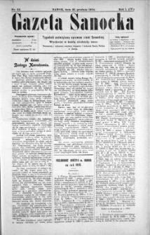 Gazeta Sanocka, 1904, nr 52