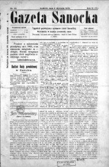 Gazeta Sanocka, 1905, nr 53