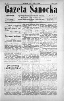 Gazeta Sanocka, 1905, nr 58