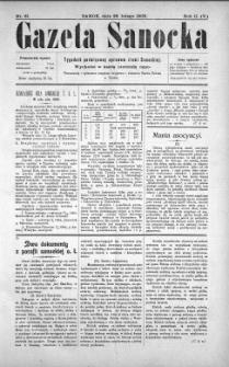 Gazeta Sanocka, 1905, nr 61