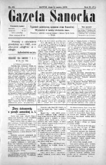 Gazeta Sanocka, 1905, nr 62