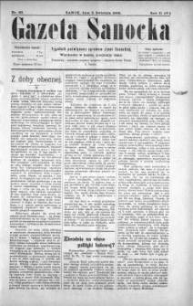 Gazeta Sanocka, 1905, nr 66