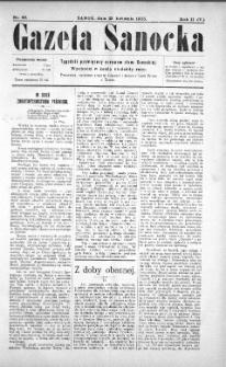 Gazeta Sanocka, 1905, nr 69