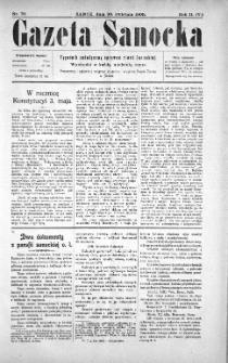 Gazeta Sanocka, 1905, nr 70