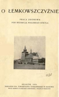 O Łemkowszczyźnie