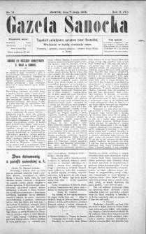 Gazeta Sanocka, 1905, nr 71