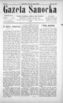 Gazeta Sanocka, 1905, nr 72