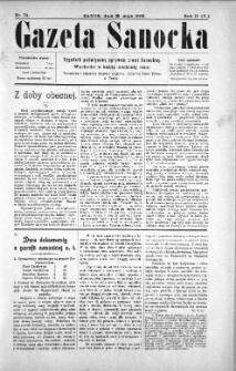 Gazeta Sanocka, 1905, nr 74