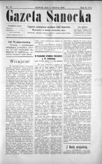 Gazeta Sanocka, 1905, nr 75