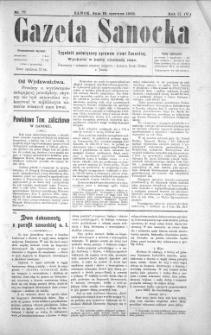 Gazeta Sanocka, 1905, nr 77
