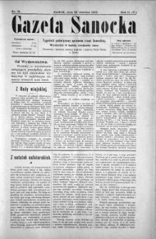 Gazeta Sanocka, 1905, nr 78