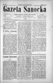 Gazeta Sanocka, 1905, nr 79