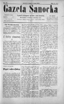 Gazeta Sanocka, 1905, nr 80