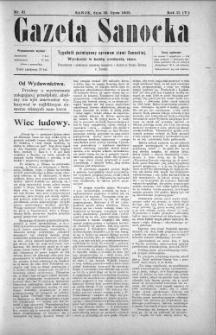 Gazeta Sanocka, 1905, nr 81