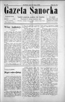 Gazeta Sanocka, 1905, nr 82