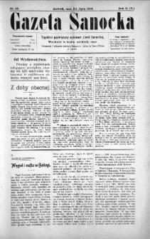 Gazeta Sanocka, 1905, nr 83
