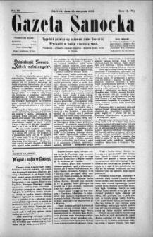 Gazeta Sanocka, 1905, nr 85