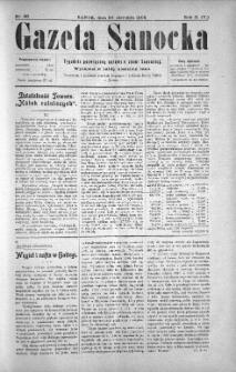 Gazeta Sanocka, 1905, nr 86