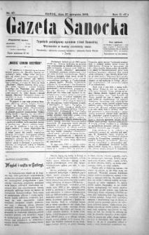 Gazeta Sanocka, 1905, nr 87