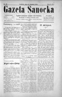 Gazeta Sanocka, 1905, nr 89