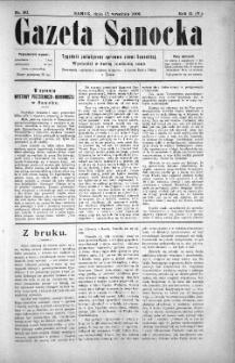 Gazeta Sanocka, 1905, nr 90