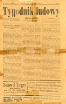 Tygodnik Ludowy : polityczno-społeczny, 1911, nr 11