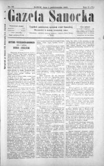 Gazeta Sanocka, 1905, nr 92