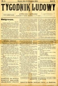 Tygodnik Ludowy : polityczno-społeczny, 1912, nr 2