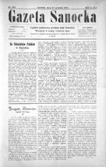 Gazeta Sanocka, 1905, nr 102