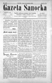 Gazeta Sanocka, 1905, nr 104