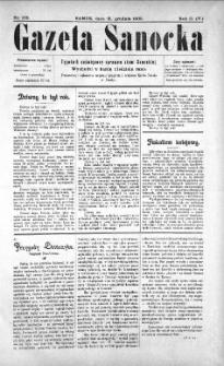 Gazeta Sanocka, 1905, nr 105
