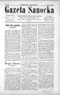 Gazeta Sanocka,1906, nr 106