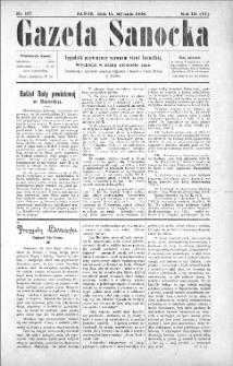 Gazeta Sanocka,1906, nr 107